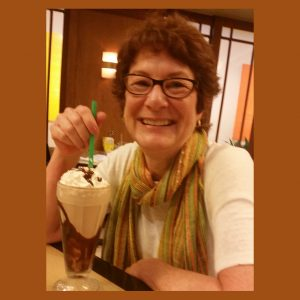 joy in a handmade chocolate malt