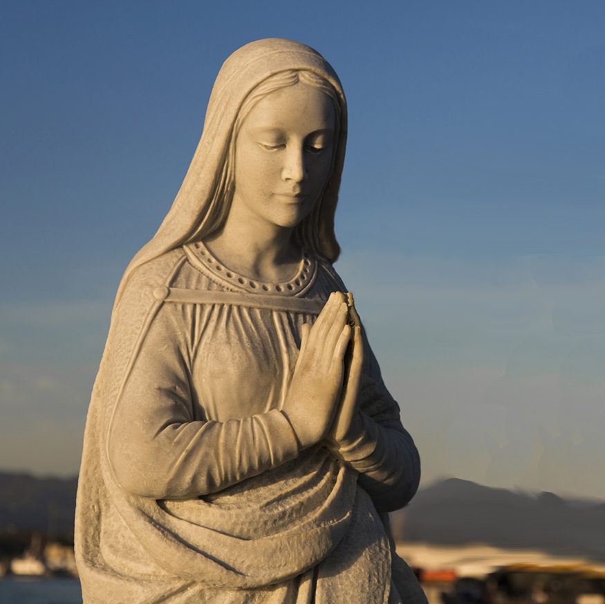 Virgin Mary patroness of seafarers