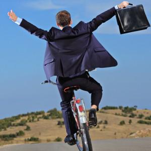 bike rider joy