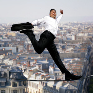 Dynamic moderation tightrope.