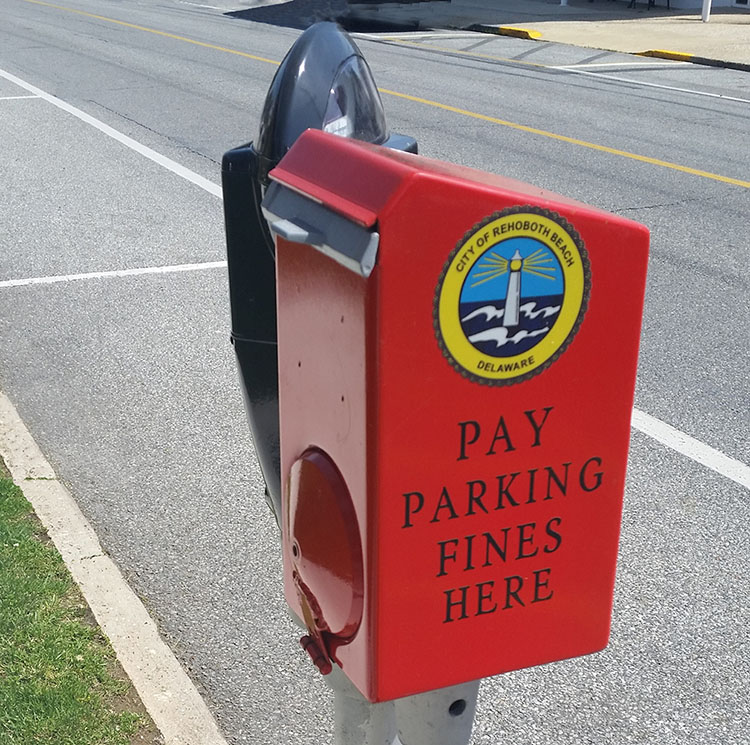 honor-system parking meter