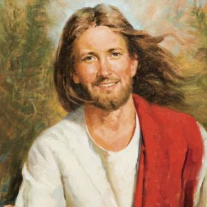 Hang out with smiling Jesus
