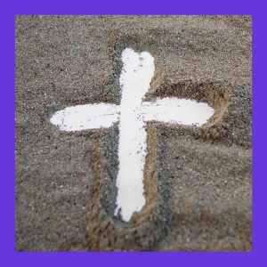 Lent Ash Wednesday cross