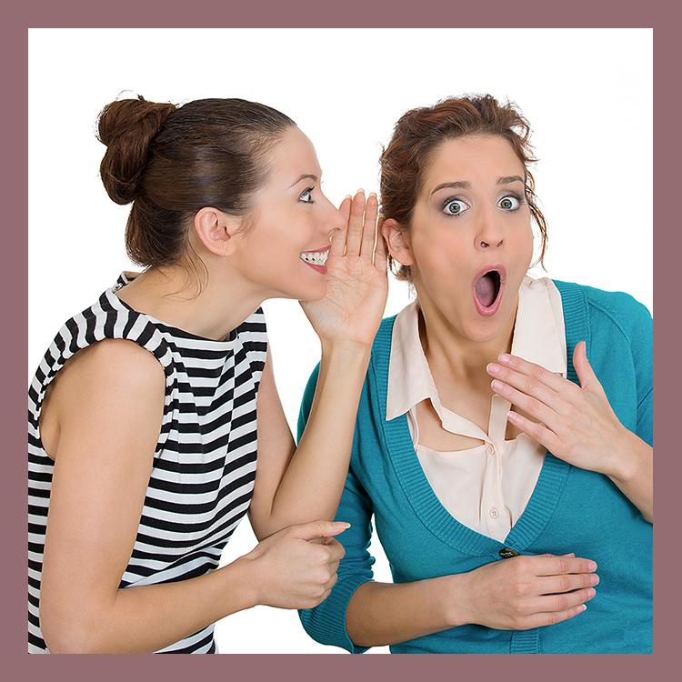 gossip of two women