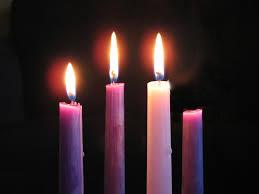 Gaudete Sunday candles