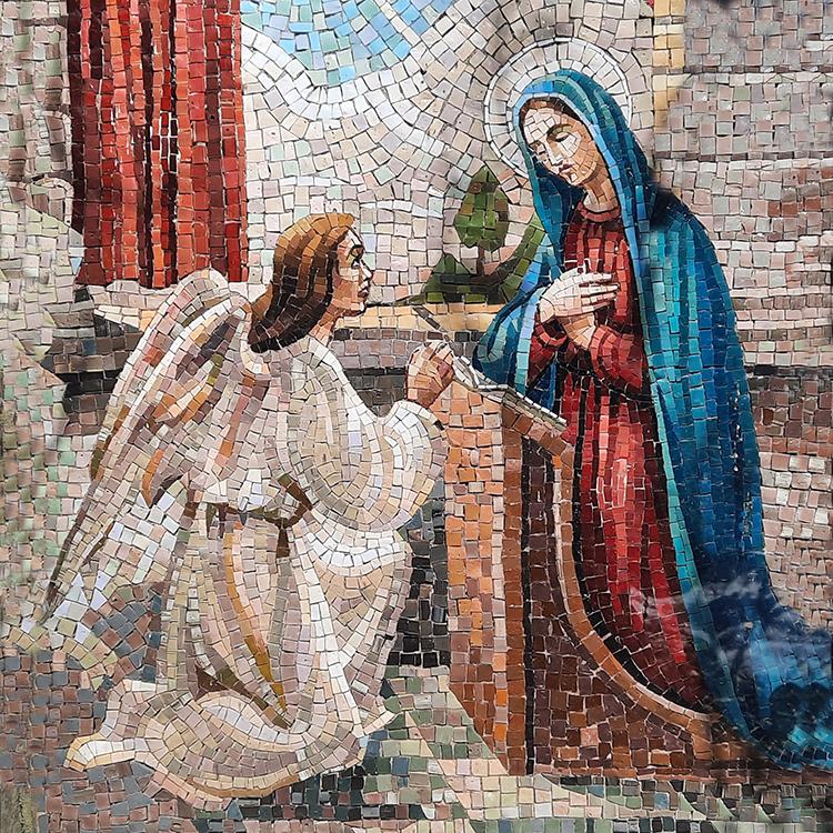 Mary's bold humility